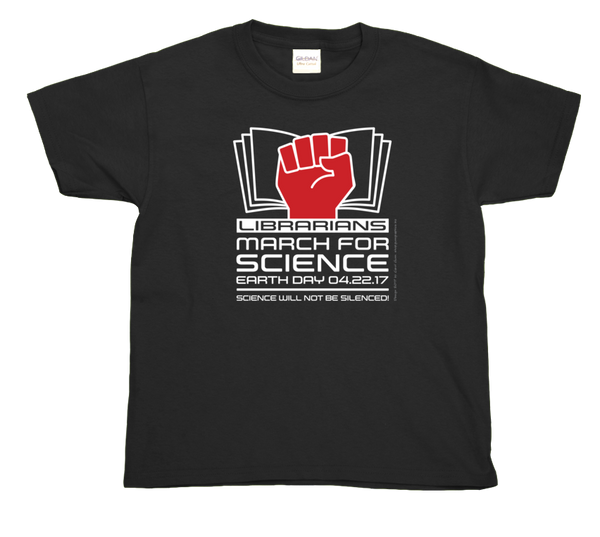 Librarians March For Science- Youth Tee