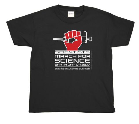 Scientists March For Science- Youth Tee