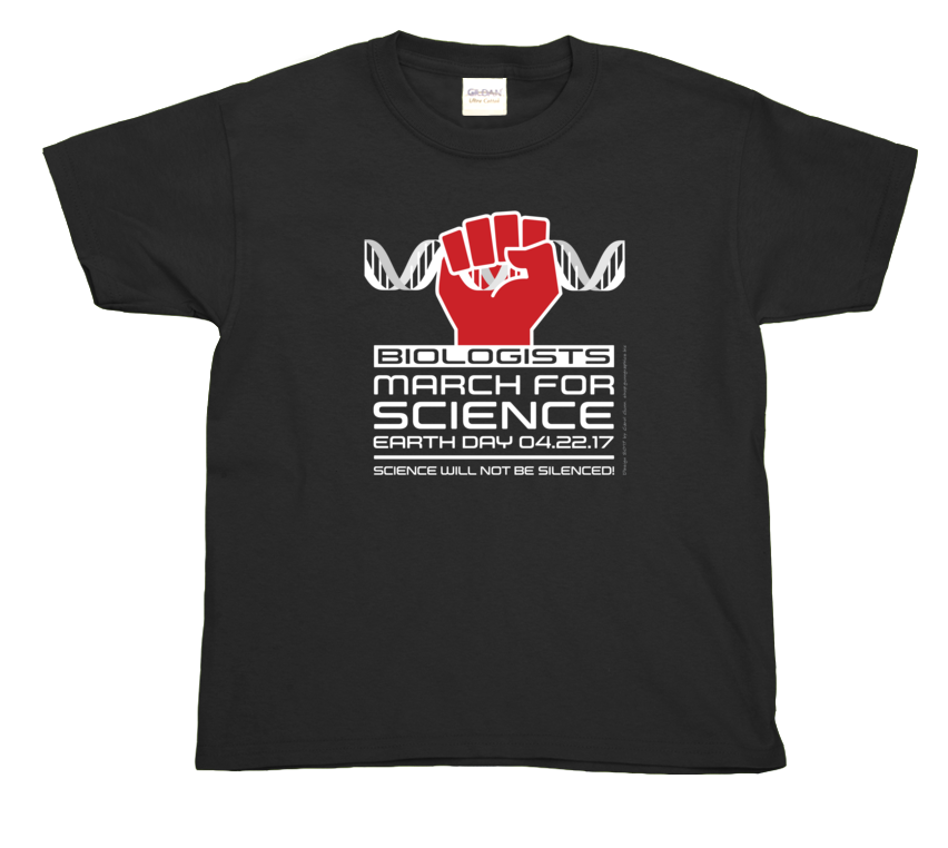 Biologists March For Science- Youth Tee