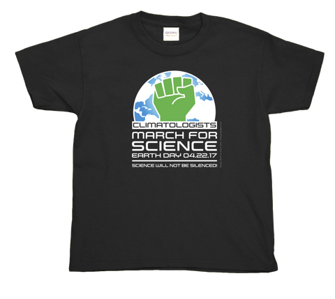 Climatologists March For Science- Youth Tee