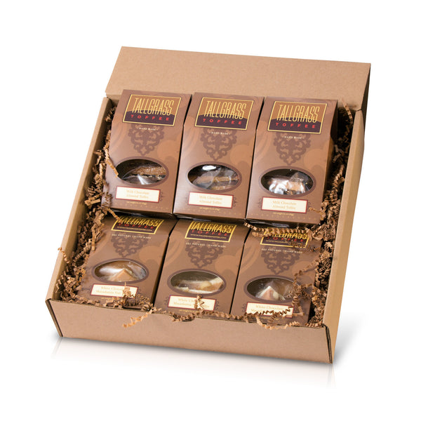 Toffee Six Pack Gift Package