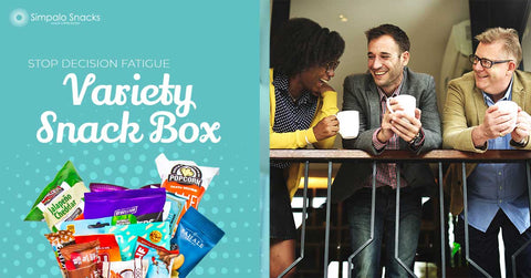 Variety Snack Boxes Help Decision Fatigue