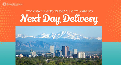 Next Day Delivery of Office Snacks To Denver Colorado