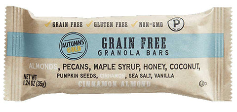 Autumn's Gold Grain Free Granola Bar Cinnamon Almond