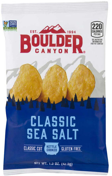 Boulder Canyon Sea Salt Kettle Cooked Potato Chips