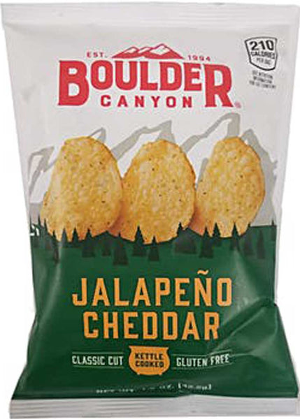 Boulder Canyon Jalapeno Cheddar Kettle Cooked Potato Chips