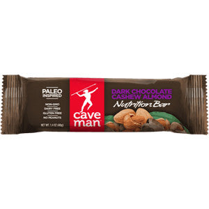 Caveman Dark Chocolate Cashew Almond