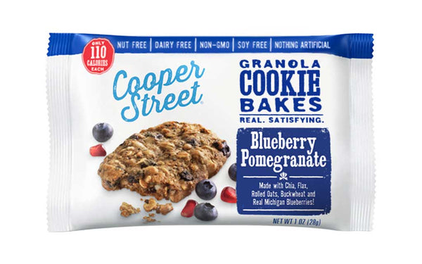 Cooper Street Granola Cookie Bakes Blueberry Pomegranate