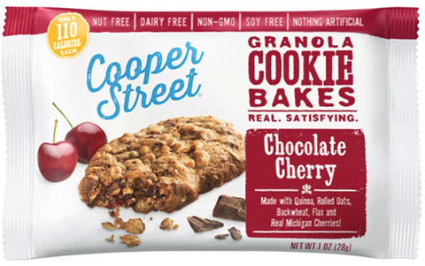 Cooper Street Granola Cookie Bakes Chocolate Cherry