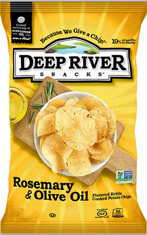 Deep River Rosemary & Olive Oil Kettle Cooked Potato Chips