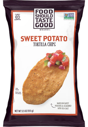 Food Should Taste Good Sweet Potato Tortilla Chip