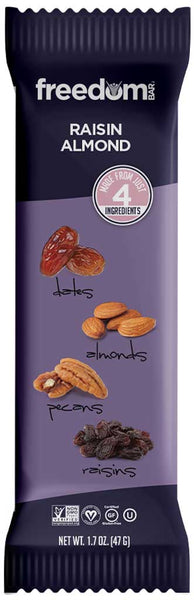Freedom Bar Raisin Almond