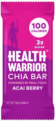 Health Warrior Acai Berry Chia Bar