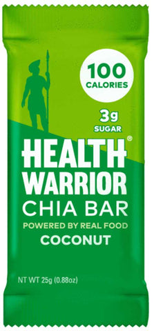 Health Warrior Coconut Chia Bar