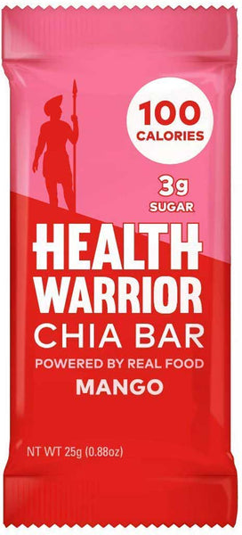 Health Warrior Mango Chia Bar