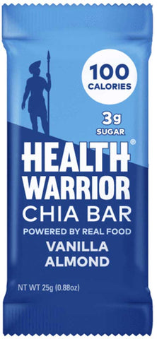 Health Warrior Vanilla Almond Chia Bar