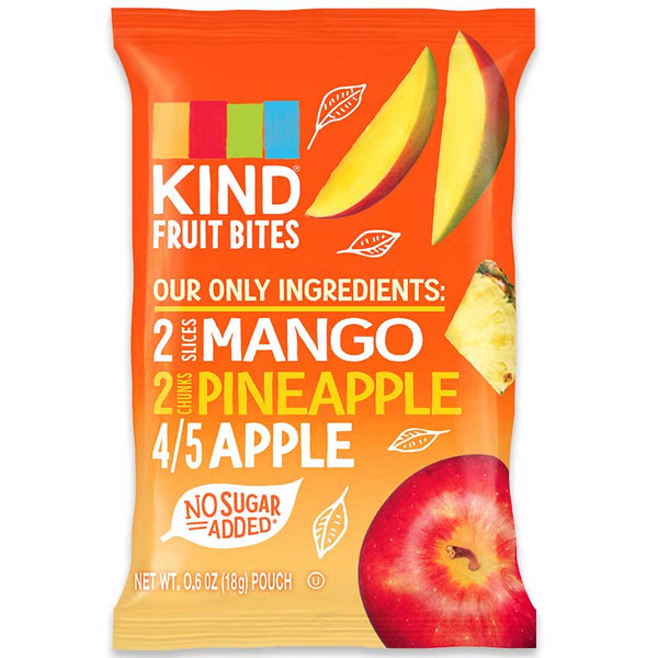 KIND Fruit Bites Mango, Pineapple, and Apple