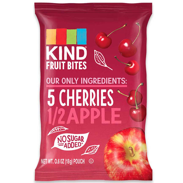 KIND Fruit Bites Cherries & Apple