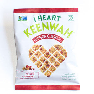 I Heart Keenwah - Cashew Cranberry Clusters