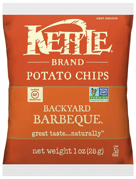 Kettle Brand Potato Chips Backyard Barbeque