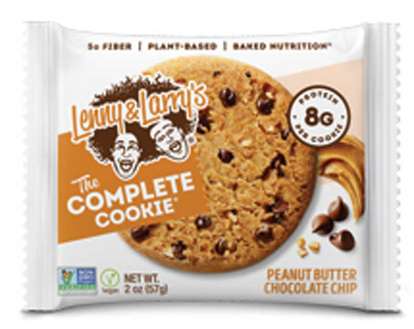 Lenny & Larry's Peanut Butter Chocolate Chip Cookie 2oz.
