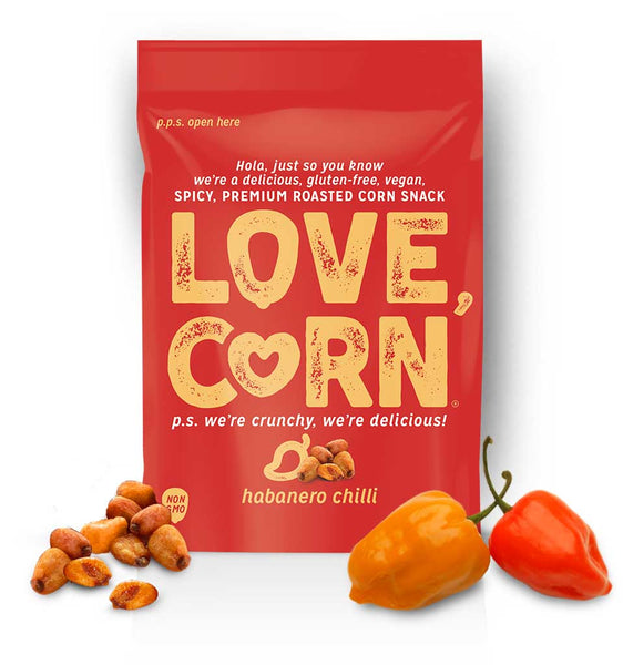 Love, Corn Habanero Chilli