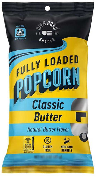 Open Road Fully Loaded Popcorn Classic Butter