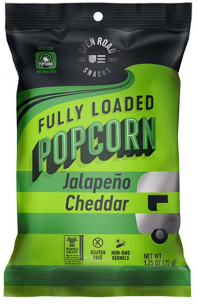 Open Road Fully Loaded Popcorn Jalapeno Cheddar