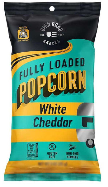Open Road Fully Loaded Popcorn White Cheddar