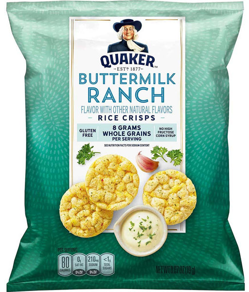 Quaker Buttermilk Ranch Rice Crisps