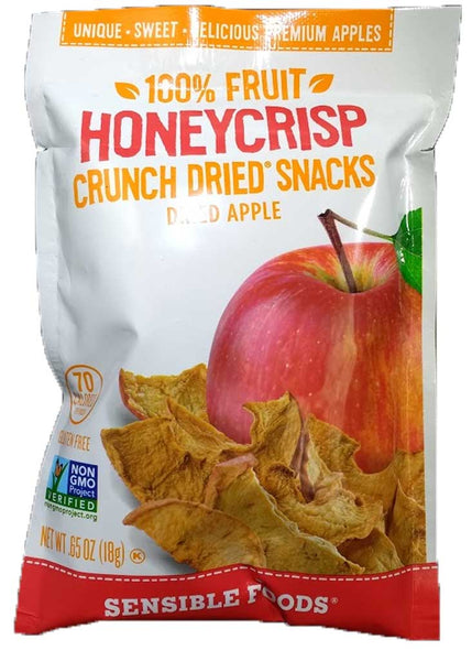 Sensible Foods Honeycrisp Cruch Dried Snacks Dried Apple