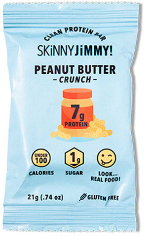 Jimmy Bar Skinny Peanut Butter Crunch