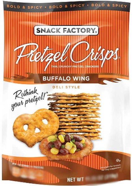 Snack Factory Pretzel Crisps Buffalo Wing