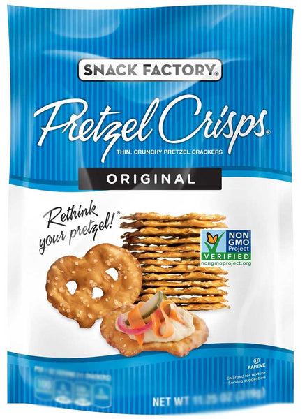 Snack Factory Pretzel Crisps Original