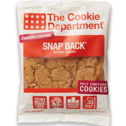 The Cookie Department Snap Back Spiced Ginger