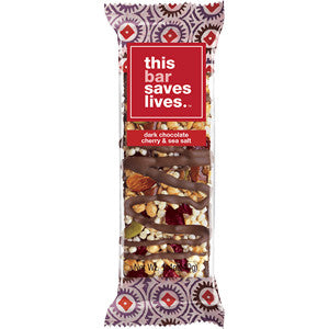 This Bar Saves Lives - Dark Chocolate Cherry Bar