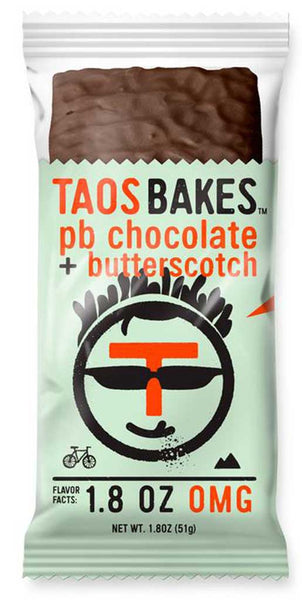 Taos Bakes PB Chocolate + Butterscotch