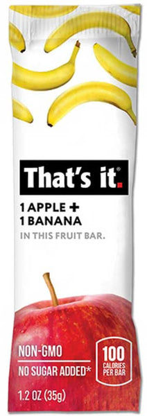 That's It Apple & Banana Fruit Bar