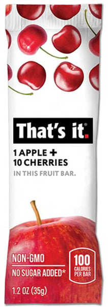 That's It Apple & Cherries Fruit Bar