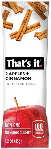 That's It Apple & Cinnamon Fruit Bar