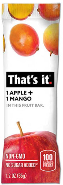 That's It Apple & Mango Fruit Bar