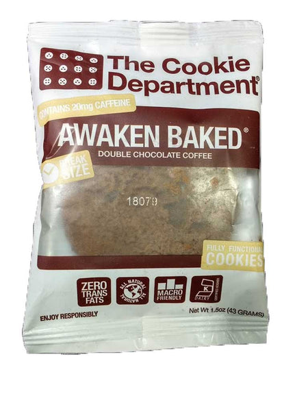 The Cookie Department Awaken Baked Double Chocolate Coffee