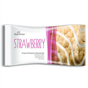 Appleways Strawberry Oatmeal Bar