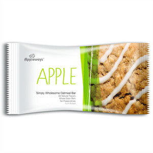 Appleways Strawberry Oatmeal Bar For Healthy Office Snacks