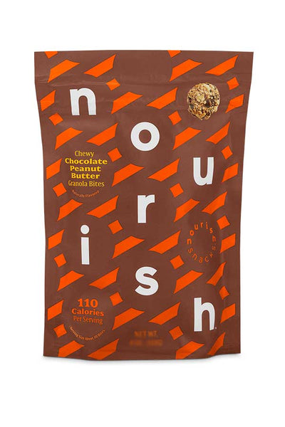 Nourish Snacks Chocolate Peanut Butter Granola Bites