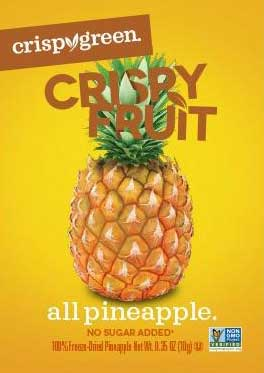 Crispy Green Pineapple