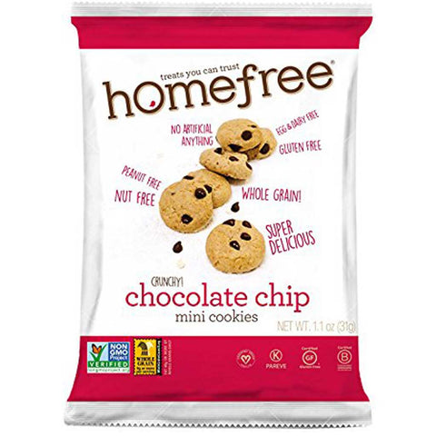 Homefree Crunchy Chocolate Chip Mini Cookies
