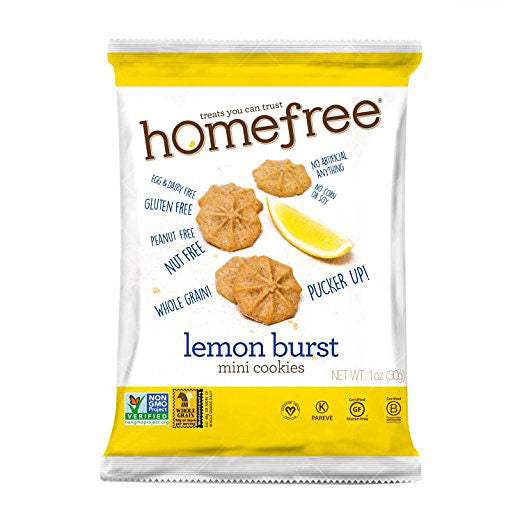 Homefree Lemon Burst Mini Cookies