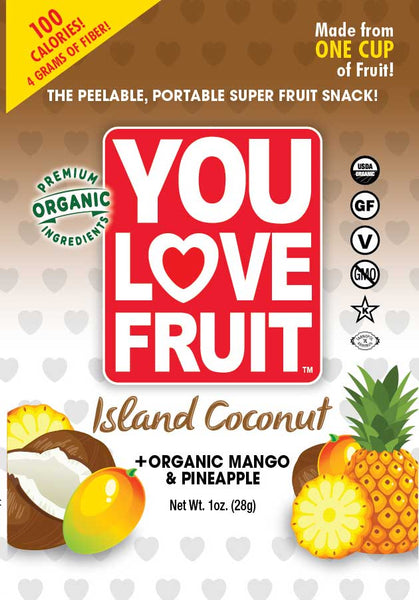 You Love Fruit Island Coconut