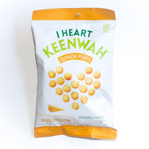 I Heart Keenwah - Aged Cheddar Puffs
